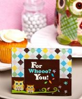 Adorable Owl Photo Frame / Place Card Holder